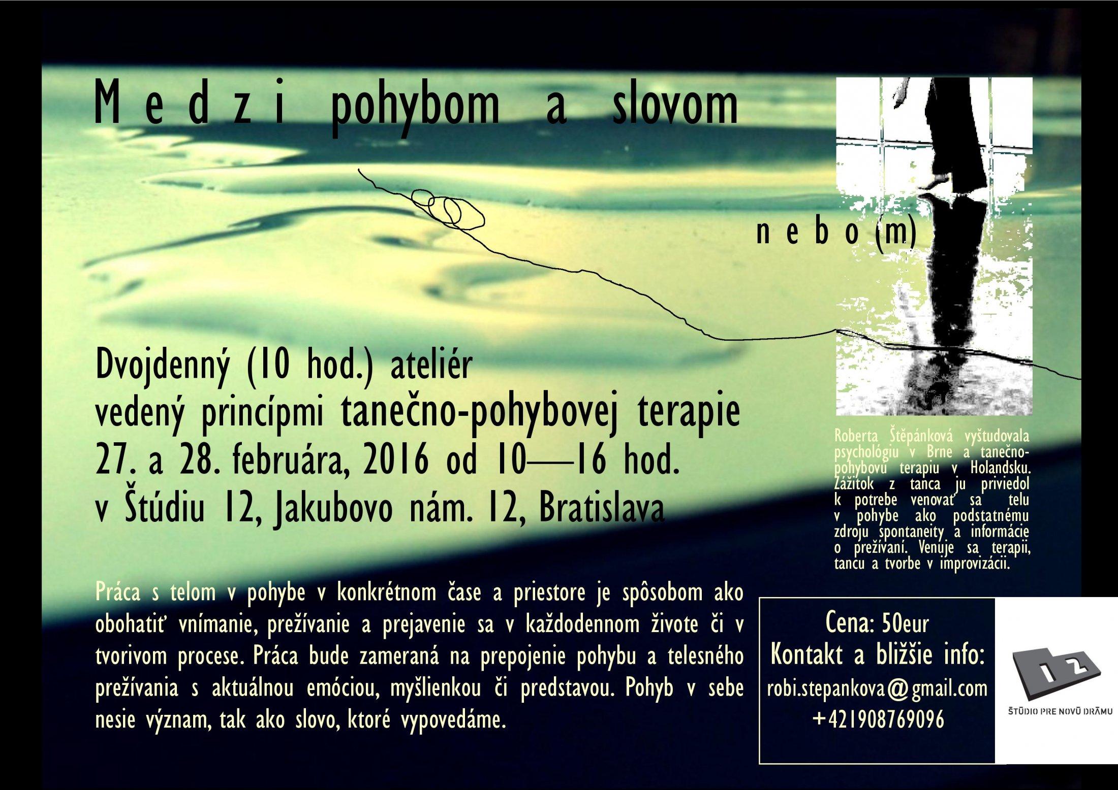 MEDZI POHYBOM A SLOVOM Plagat-page-001(1)