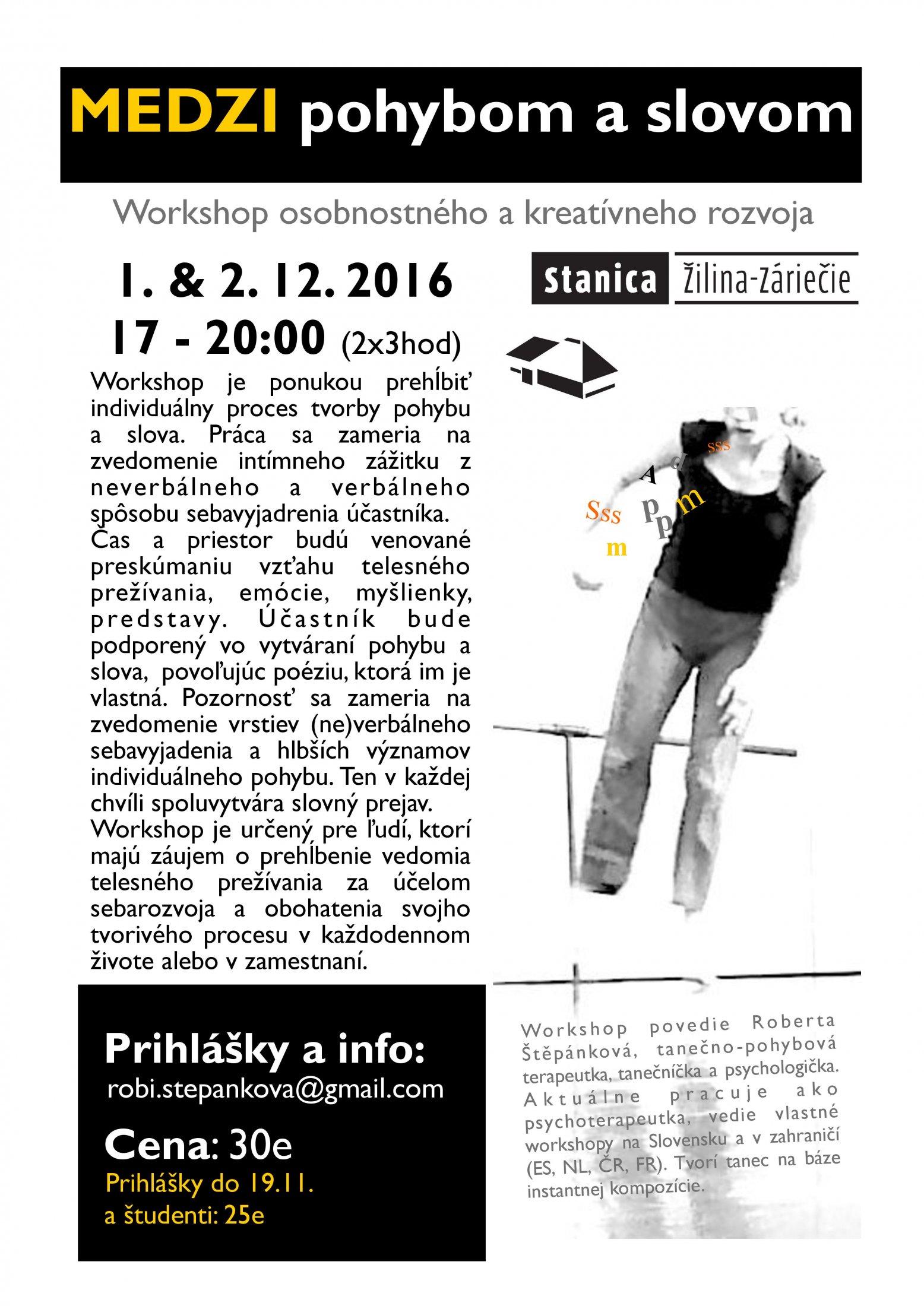 Medzi Pohybom A Slovom STANICA Zilina Dec 2016-page-001